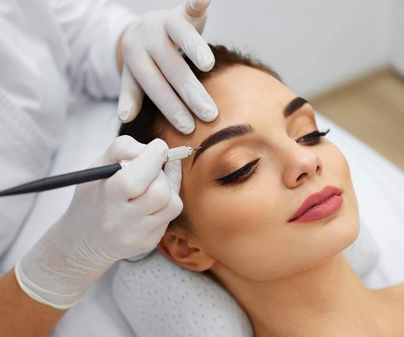 Permanent and semi-permanent make-up