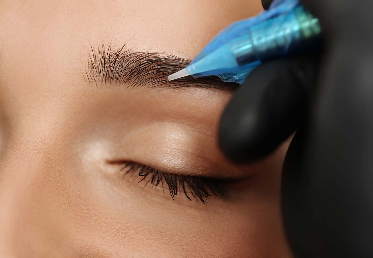Permanent and semi-permanent make-up